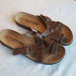 Tatami Rare Birkenstock Leather Sandals